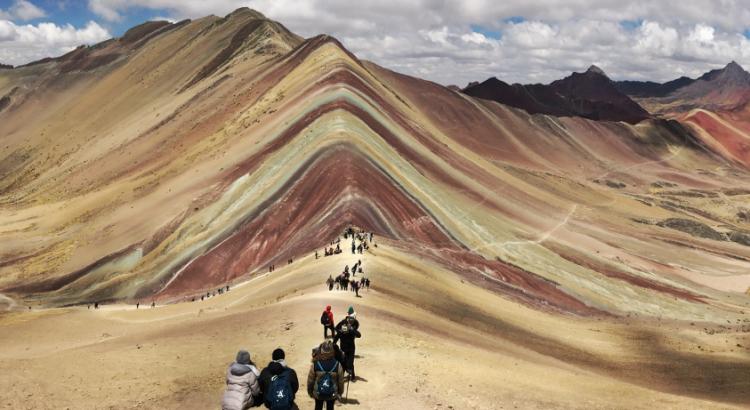 El Vinicunca: la montaña de los siete colores
