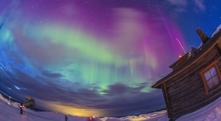 Auroras Boreales en Saariselka. Foto Ignasi Rovira