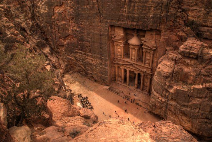 Trekking en Jordania. Foto archivo Tuareg