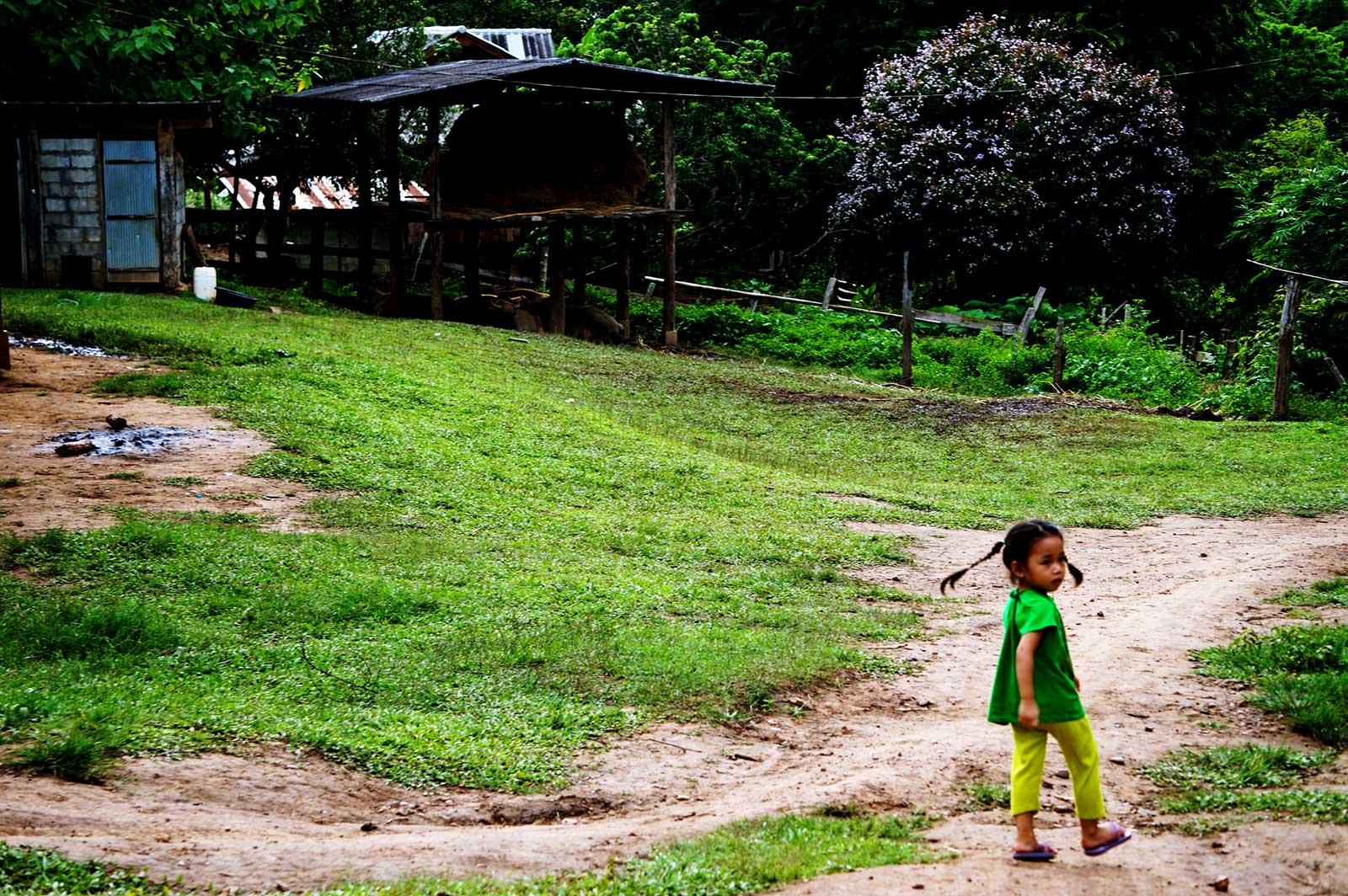 Fotografía de Ariadna Paraira efectuada en el trekking por Tailandia