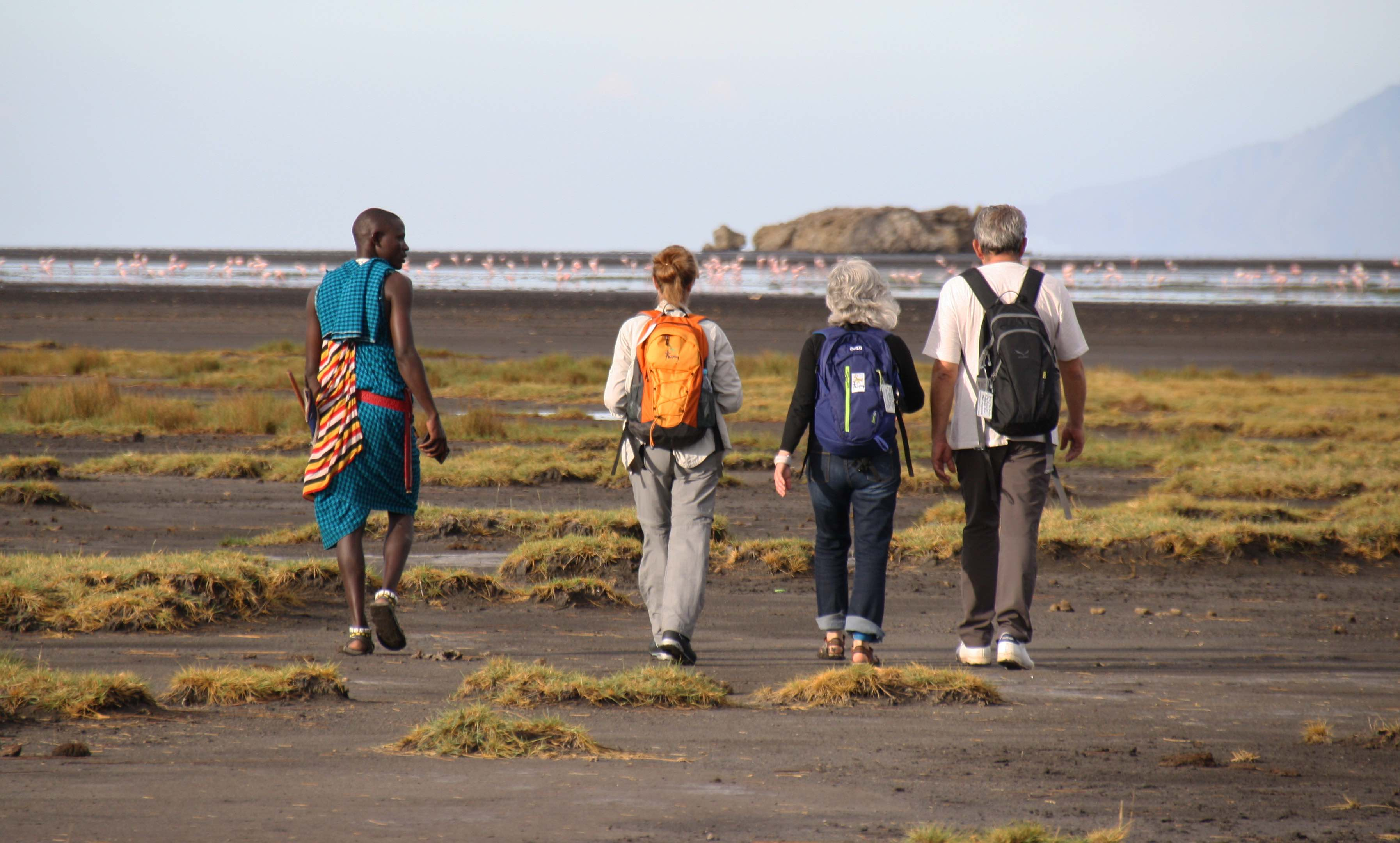 Viaje a Senegal. Lago Natron. Laura Esteve