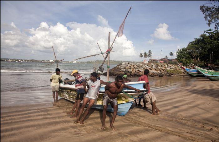 Viaje a Sri Lanka GALLE PESCADORES Autor:Tino Valduvieco