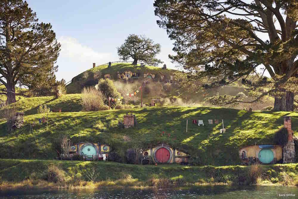 VIaje a Nueva Zelanda. Hobbiton. Sara Orme