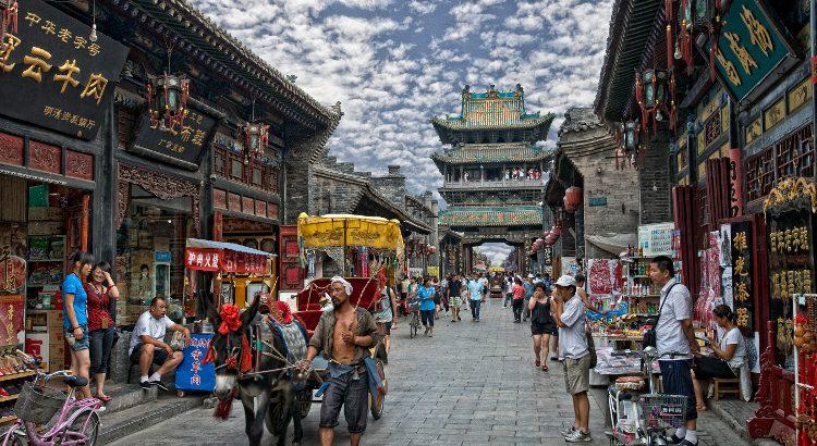 """Antonio Naranjo. """"En las calles de Pingyao"""" (China)"""
