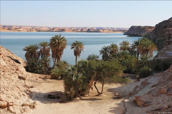 Viaje a Chad lagos de OUNIANGA. Autor Point Voyage