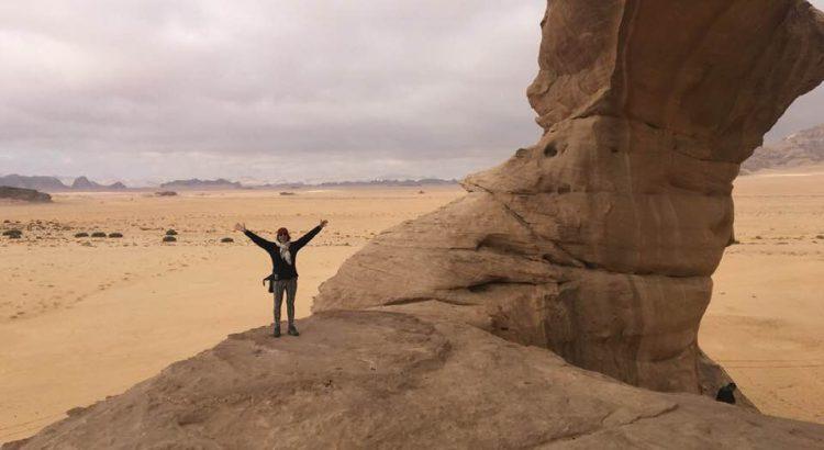 Viaje a Jordania - Wadi Rum, primer dia de 2018 Gemma Sala