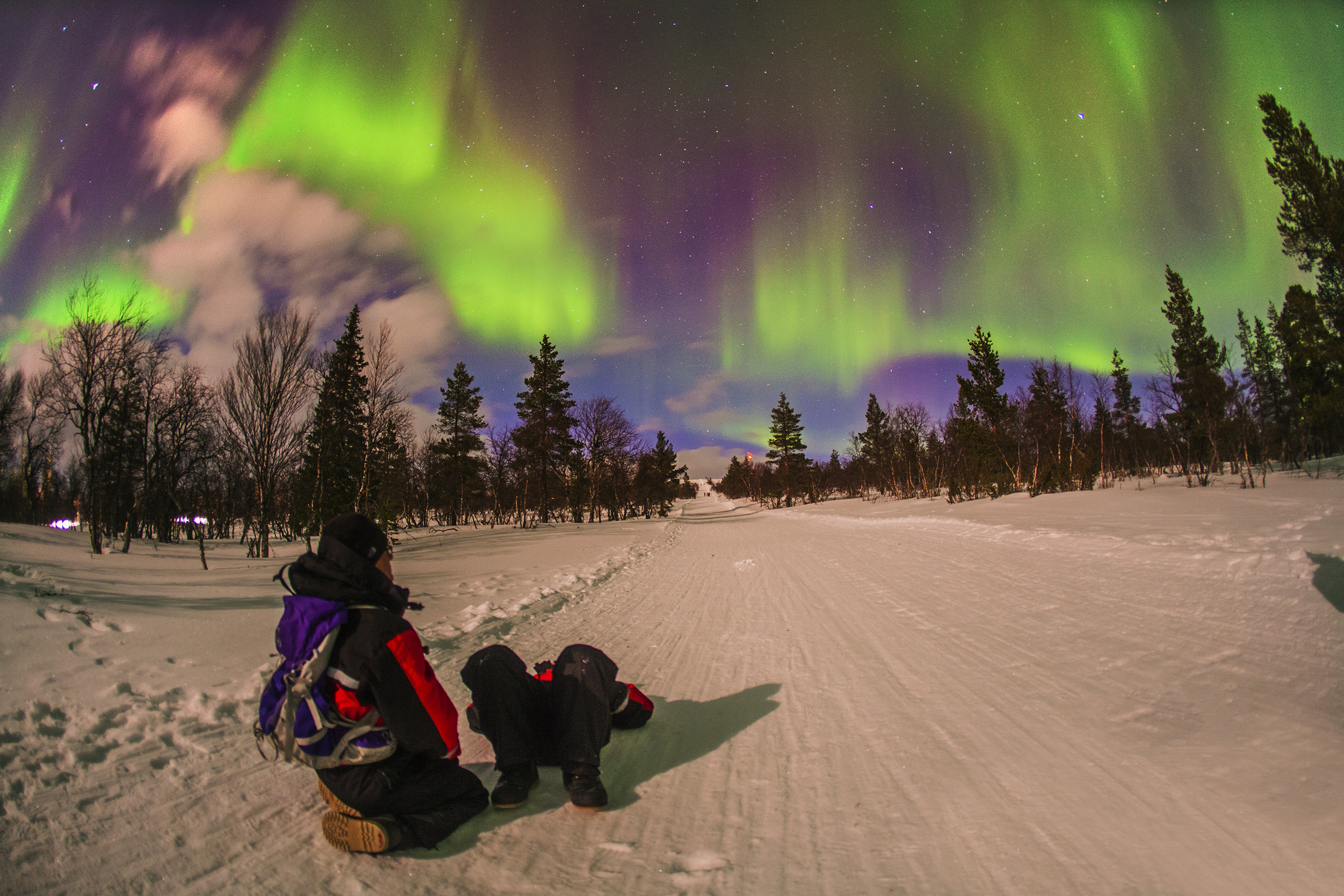 Auroras Boreales en Finlandia mejor epoca