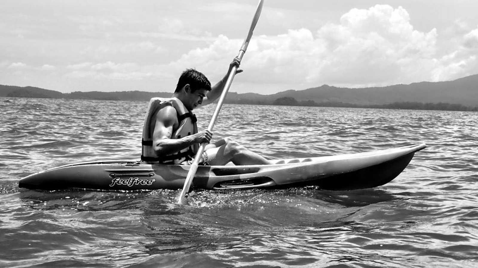 Viaje a Tailandia Kayak en Krabi - Autor Carmina Izuel