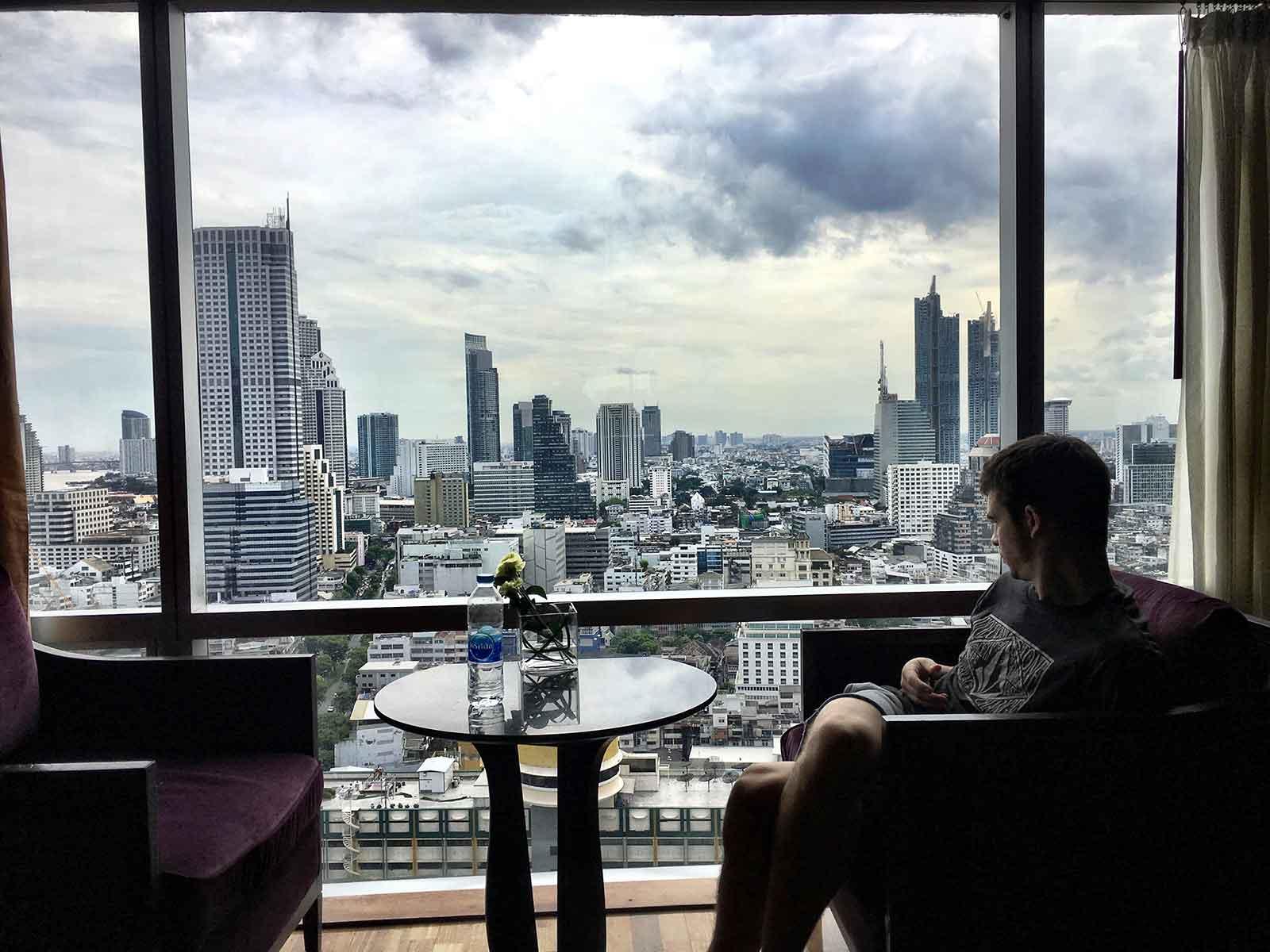 Sira Casanova - Bangkok desde el cuarto del hotel