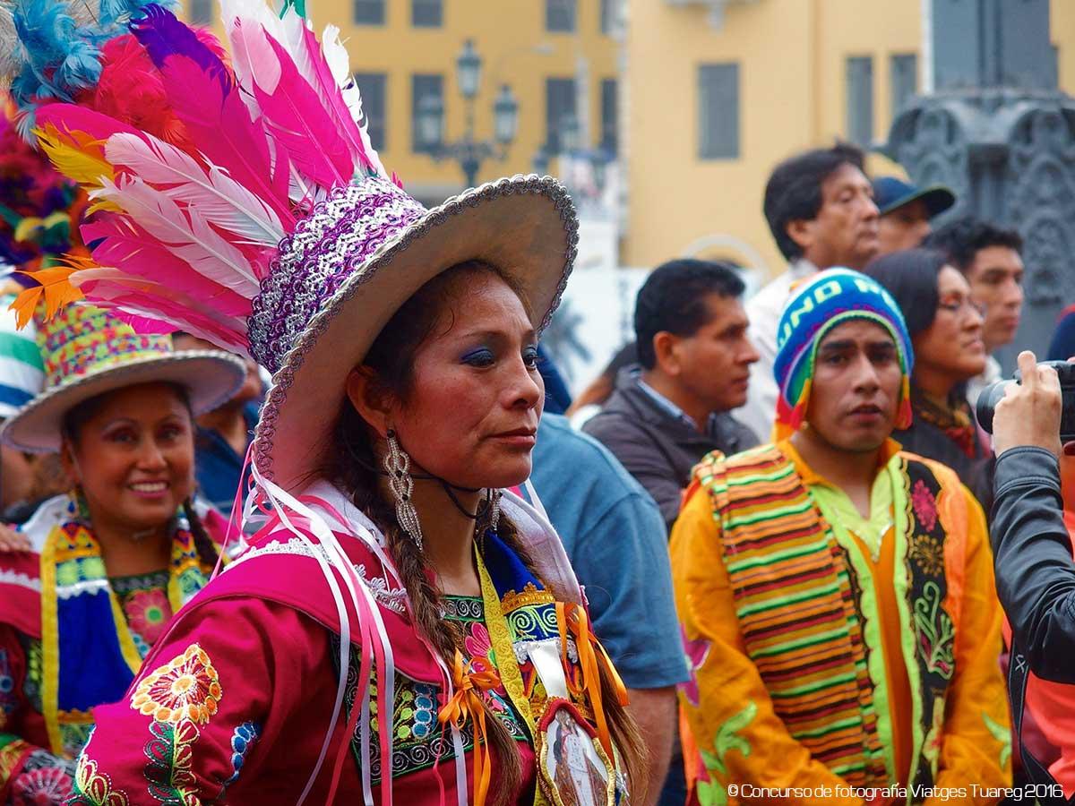 Autor Carmen Jordán efectuada en el viaje a Perú