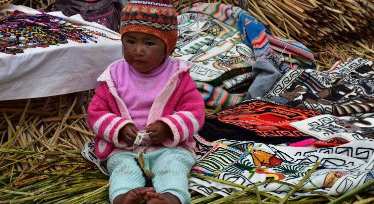 Autor Emilio Moreno - Puno en el lago Titicaca