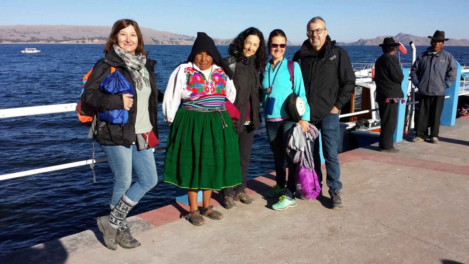 Foto de Iuliana Trifu - Amantani en Peru
