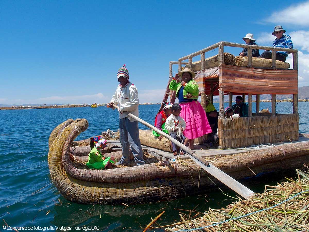 Lago Titicaca en Perú - Autor Carmén Jordán