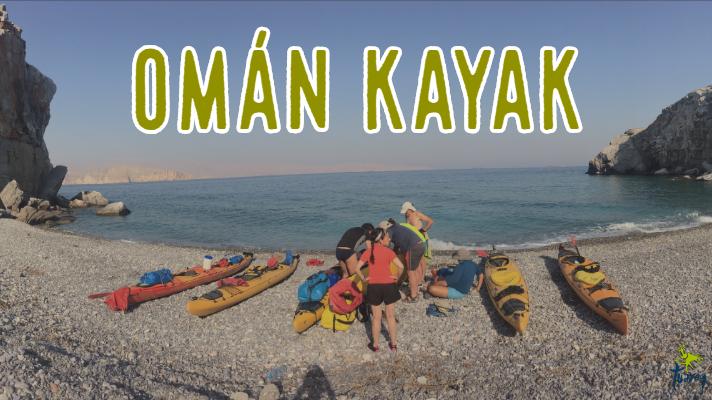 Navegando en Kayak por los fiordos de Omán Tuareg