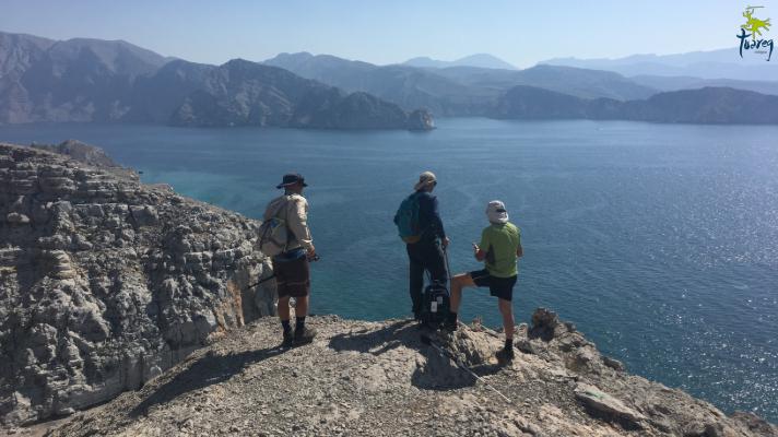 Trekking por los fiordos de Omán