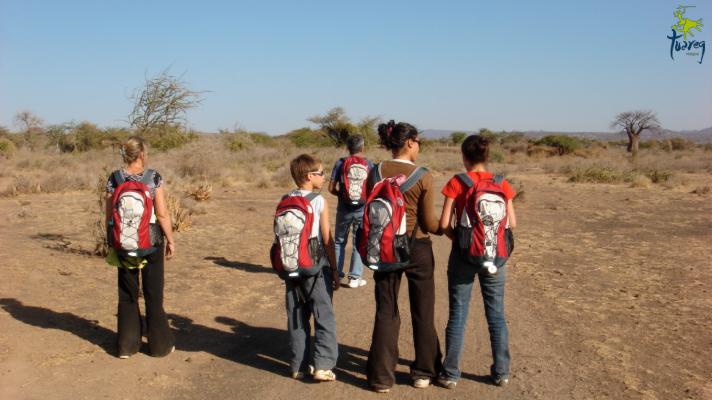 FAMILIA CON NIñOS EN TANZANIA