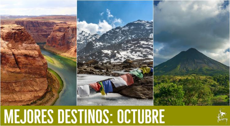 mejores viajes octubre