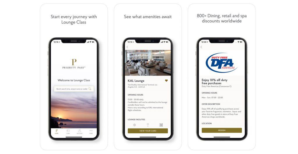Priority Pass app gratis viajar