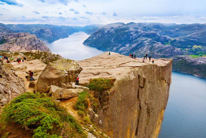 Fiordos y parque naturales Senderismo y kayak