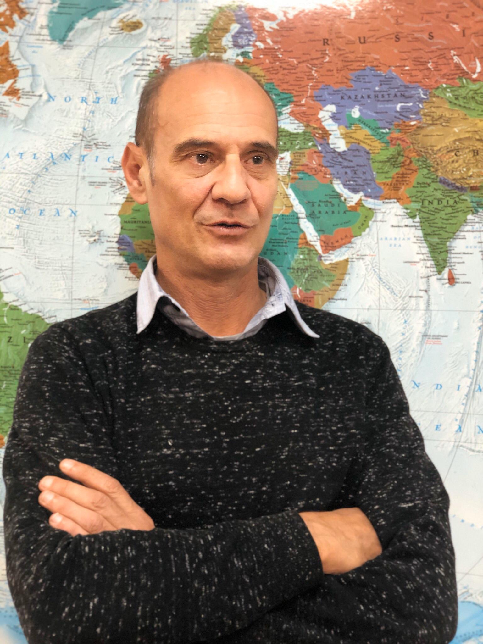 Jordi Vendrell gerente de Viatges Tuareg