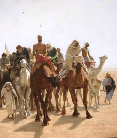 Caravanas en los desiertos del Asia Central