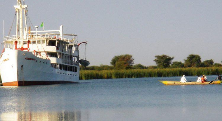 El río Senegal a bordo del Bou el Mogdad